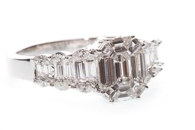 Lot 142-A DIAMOND DRESS RING