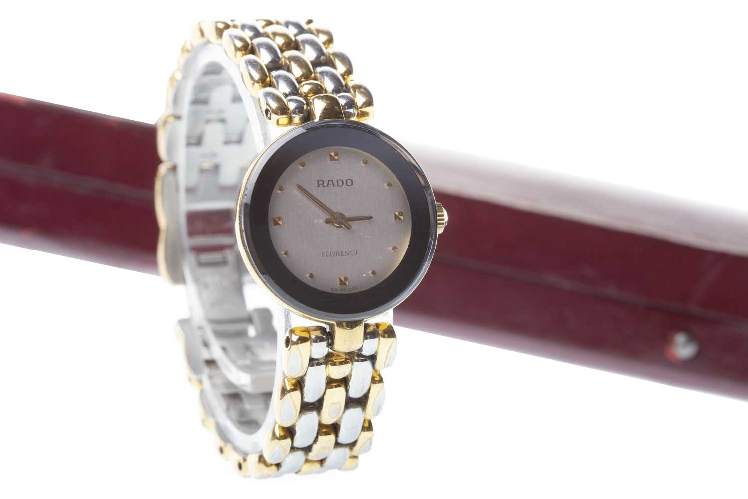 Lot 775-LADY'S RADO FLORENCE STAINLESS STEEL WATCH