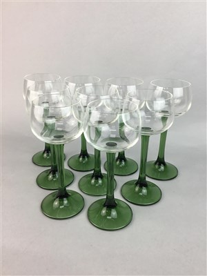 Lot 16-A COLLECTION OF GLASSES