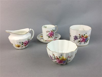Lot 20-A COLLECTION OF VICTORIAN AND LATER CUPS, SAUCERS AND PLATES