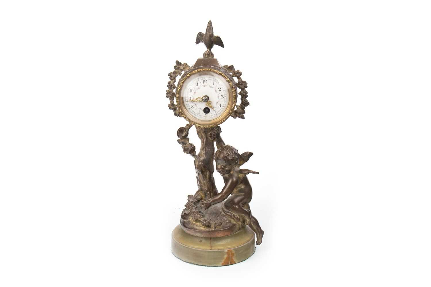 Lot 1399-A LATE 19TH CENTURY FRENCH FIGURAL CLOCK