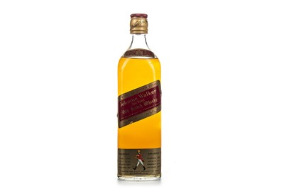 Lot 416-JOHNNIE WALKER RED LABEL