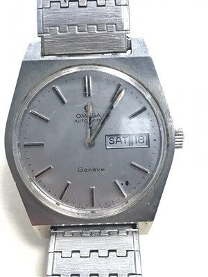 Lot 779-A GENTLEMAN'S OMEGA AUTOMATIC STAINLESS STEEL WRIST WATCH