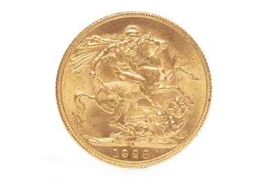 Lot 549-A GOLD SOVEREIGN, 1928