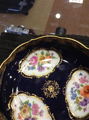 Lot 1201-A 19TH CENTURY MEISSEN CUP AND SAUCER