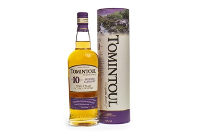 Lot 342-TOMINTOUL AGED 10 YEARS