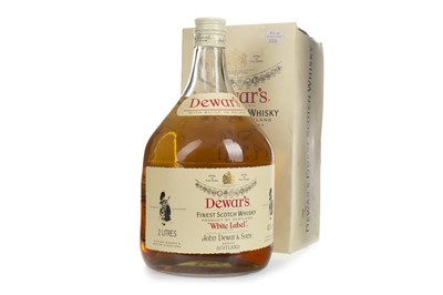 Lot 423-DEWAR'S WHITE LABEL - 2 LITRES