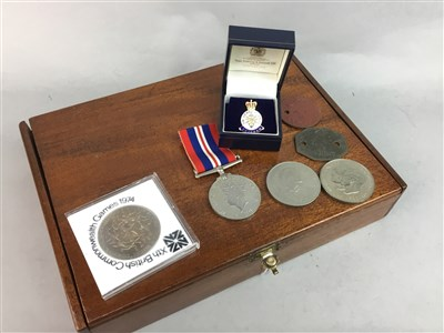 Lot 24-A WWII MEDAL, BADGE AND COMMEMORATIVE COINS
