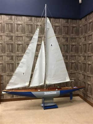 Lot 805-A POND YACHT 'ROSSBANK PRINCESS'