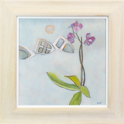 Lot 502-FLOATING, AN OIL BY MARIE SCOTT