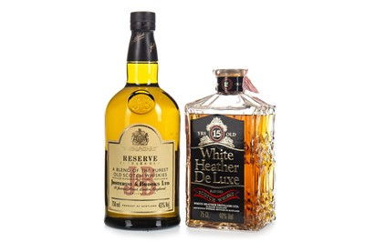 Lot 426-J&B RESERVE 15 YEARS OLD AND WHITE HEATHER 15 YEARS OLD