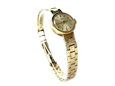 Lot 790-A LADY'S TUDOR GOLD WATCH