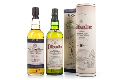 Lot 349-TULLIBARDINE 1988 AND 10 YEARS OLD