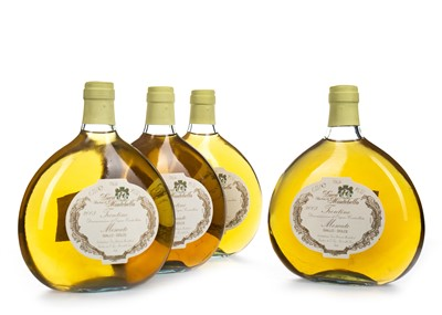 Lot 1018-FOUR BOTTLES OF FRENTINO MOSCATO 2003 DOLCE