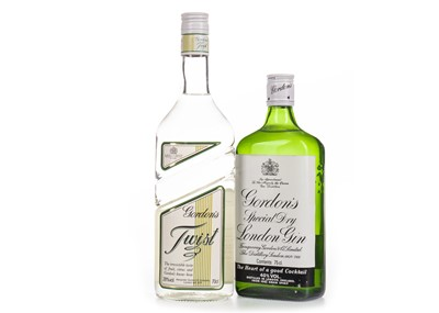 Lot 1029-GORDON'S SPECIAL DRY GIN AND GORDON'S TWIST