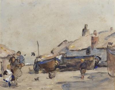Lot 450-DORDRECHT, A WATERCOLOUR BY WILLIAM FREDERICK MAJOR