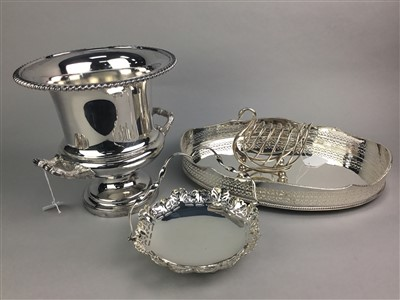 Lot 31-A LOT OF SILVER PLATED ITEMS