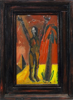 Lot 623-ARISE, AN OIL BY FRANK HIGGINS