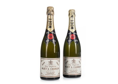 Lot 1031-MOET & CHANDON 1959 DRY IMPERIAL (2)