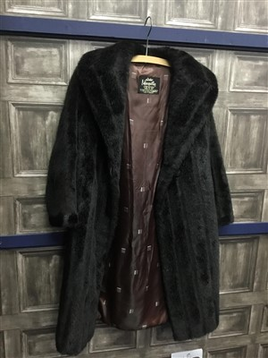 Lot 37-A LOT OF FUR AND VINTAGE JACKETS AND STOLES