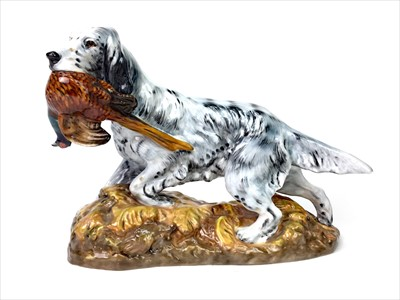Lot 1209-A ROYAL DOULTON FIGURE OF A GUN DOG