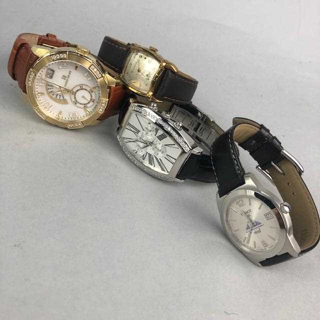 Lot 9-A LOT OF FOUR GENTLEMAN'S WRIST WATCHES