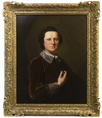 Lot 506-PORTRAIT OF A YOUNG GENTLEMAN, ATTRIBUTED TO ALLAN RAMSAY
