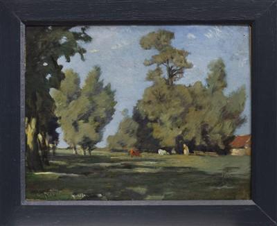 Lot 507-AN EAST LOTHIAN FARM, AN OIL BY ROBERT NOBLE