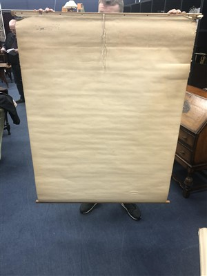 Lot 6-A LOT OF SEVEN EARLY-20TH CENTURY ANATOMICAL CHARTS