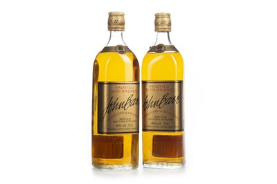 Lot 448-TWO BOTTLES OF JOHN BARR