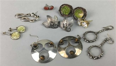 Lot 5-A LOT OF VINTAGE EARRINGS