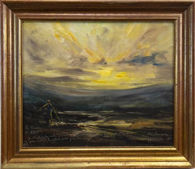 Lot 616-THE PARADISE, AN OIL BY ARMAND GUSTAVE JAMAR