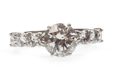 Lot 10A-A DIAMOND DRESS RING