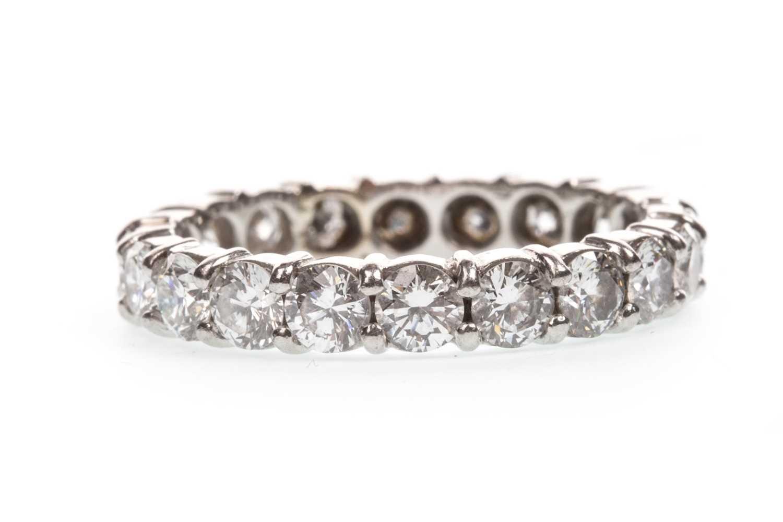 Lot 20-A DIAMOND ETERNITY RING