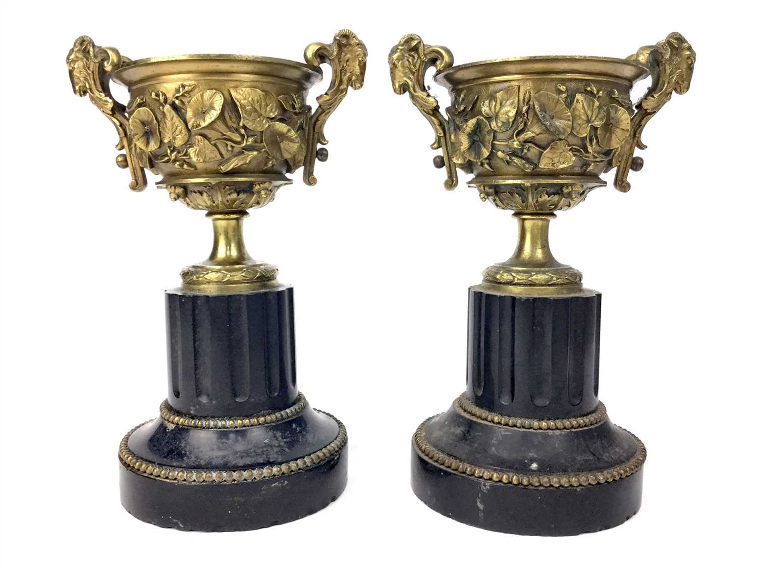 Lot 801-A PAIR OF LATE 19TH CENTURY GARNITURES