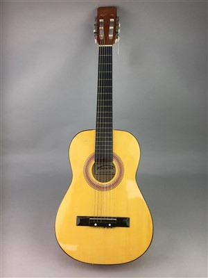 Lot 9-A LOT OF TWO ACOUSTIC GUITARS