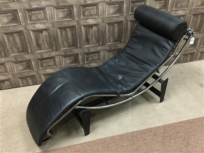 Lot 854-A CHAISE LOUNGE DESIGNED BY LE CORBUSIER