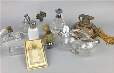 Lot 13-A LOT OF ART DECO AND OTHER PERFUME BOTTLES