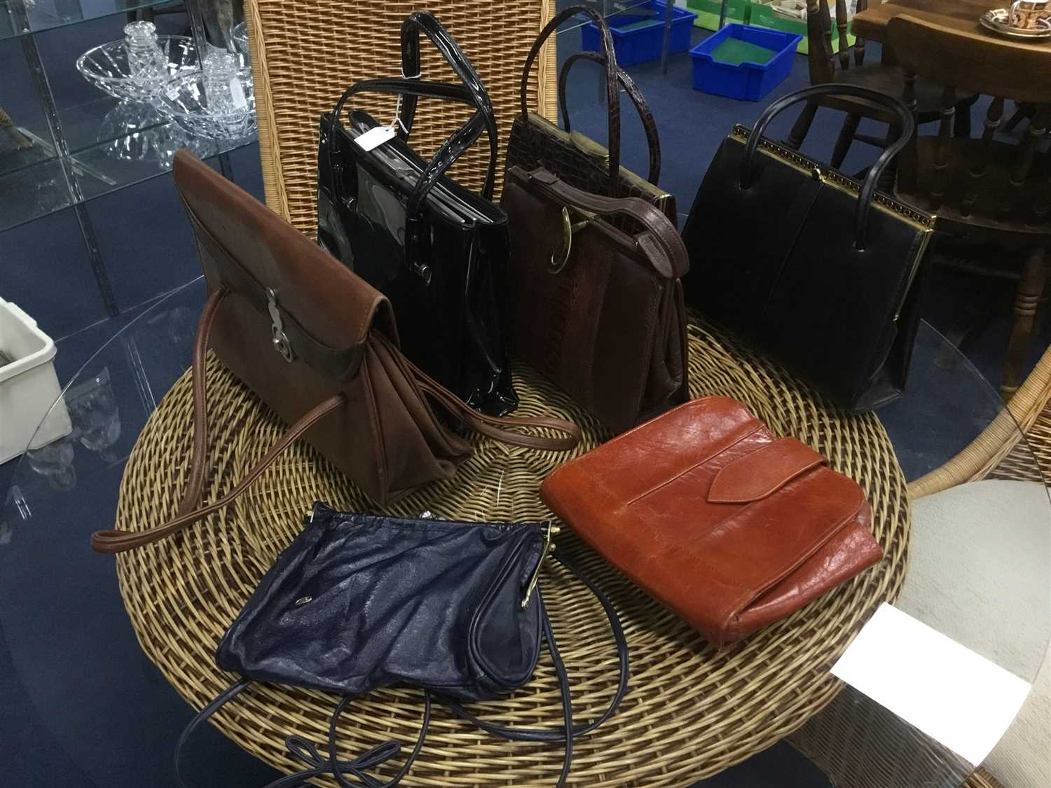 Lot 10-A LOT OF 20TH CENTURY HANDBAGS