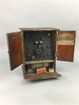 Lot 19-A SIGNALLING DEVICE AND TWO MANTEL CLOCKS