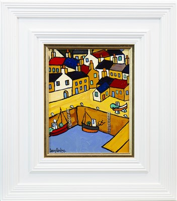 Lot 685-EAST NEUK HARBOUR, AN OIL BY IAIN CARBY