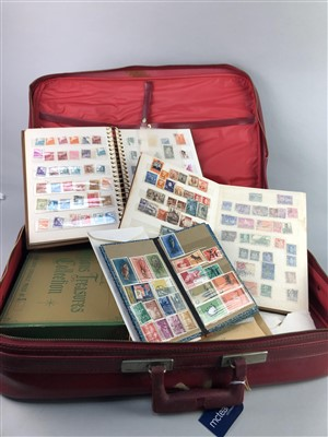 Lot 48-A COLLECTION OF BRITISH AND WORLD STAMPS