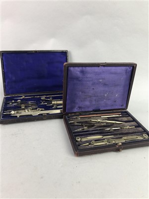 Lot 50-A LOT OF PLAYING CARDS, STAMPS AND DRAWING INSTRUMENTS