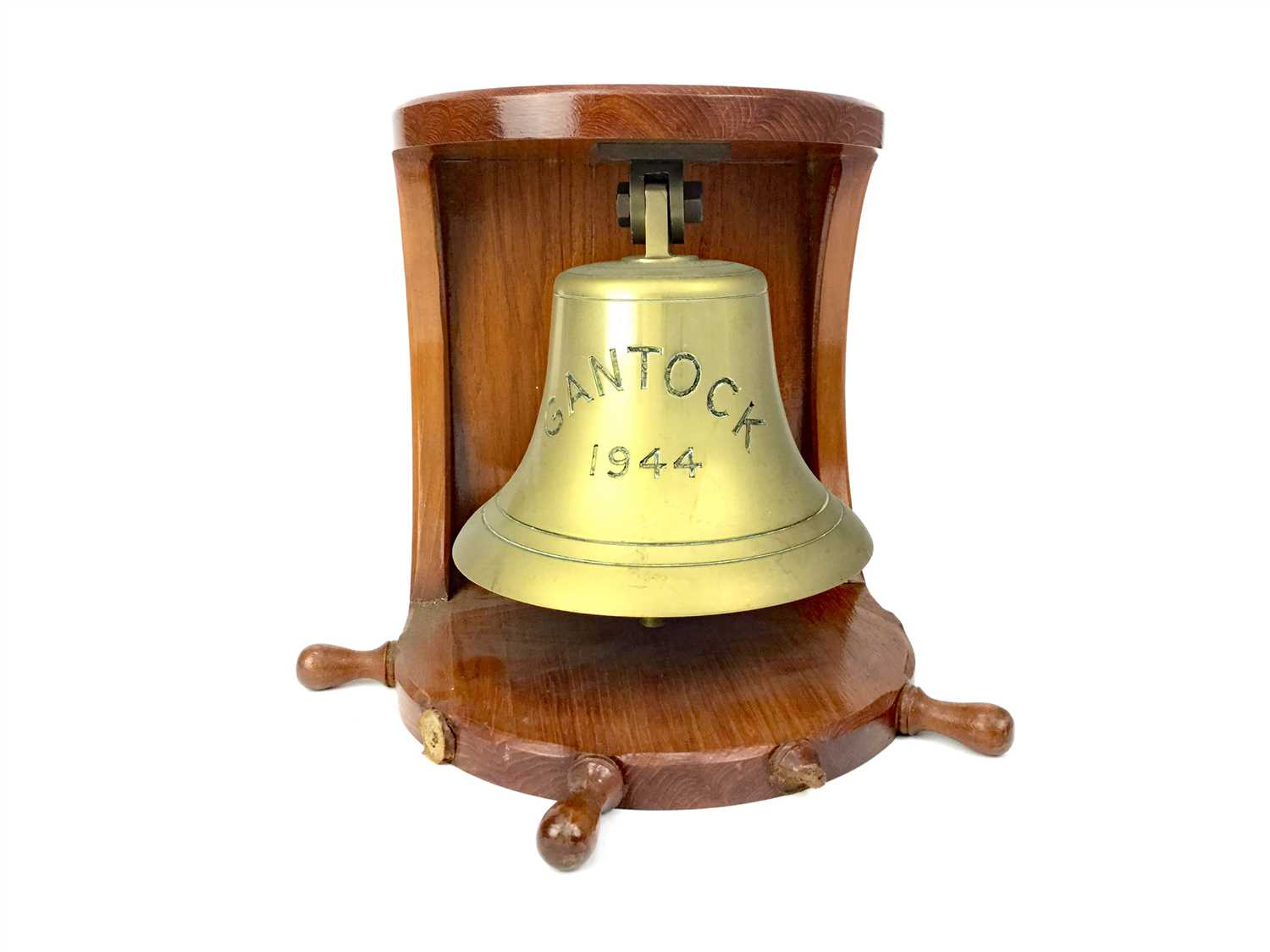 Lot 812-A MID 20TH CENTURY BRASS SHIP'S BELL