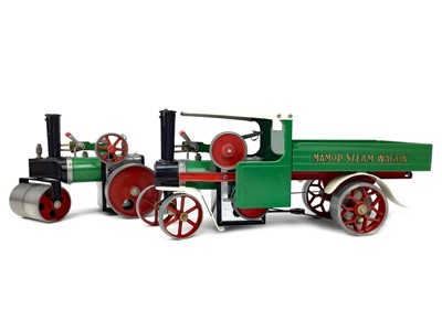 Lot 814-A LOT OF TWO MAMOD STEAM POWERED VEHICLES