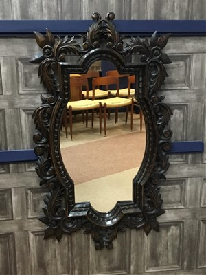 Lot 810-A BAROQUE STYLE WALL MIRROR