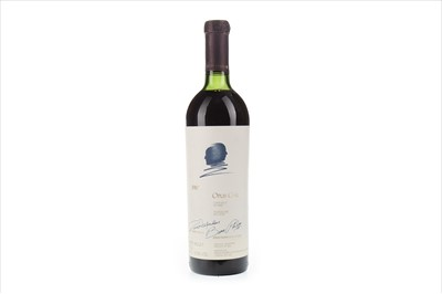 Lot 2012-OPUS ONE 1987