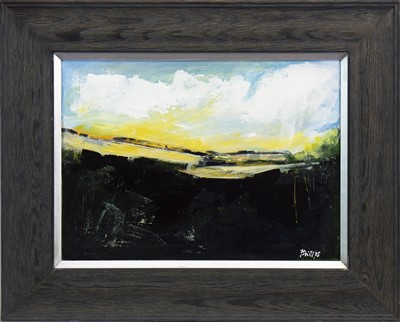 Lot 740-BRIGHT BEYOND, AN OIL BY AMANDA PHILLIPS