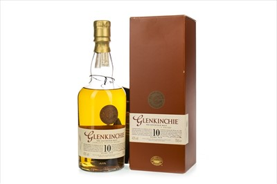 Lot 1312-GLENKINCHIE 10 YEARS OLD - LOW FILL