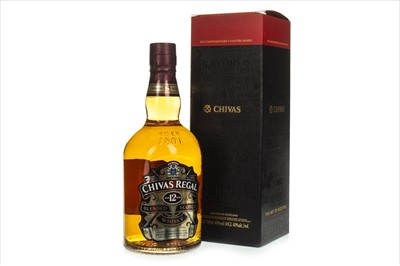 Lot 1410-CHIVAS REGAL 12 YEARS OLD